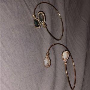 Henri Bendel Bangles (2 bracelets bundle)